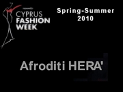 Afroditi Hera - Cyprus Fashion Week 2009