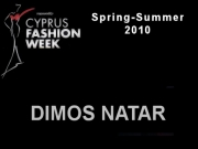 Dimos Natar - Cyprus Fashion Week 2009