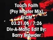 Eric M - Touch Faith (Psy Master Club Mix)