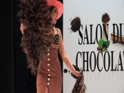 Fashion's Life - Malika Ménard Salon du Chocolat 2011