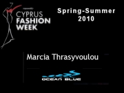 Ocean Blue - Cyprus Fashion Week 2009