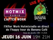 Ycare (Live) et Junior Caldera - After Work Hotmixradio au Banana 16062011